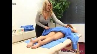 Daphne Rosen gives her client a massage. Part2 on TCams.xyz
