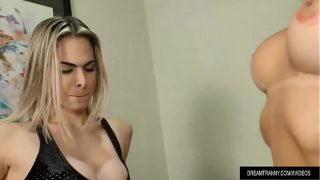 Tranny on Tranny Cock Sucking and Ass Fucking with Barbara Perez and Bella Atrix