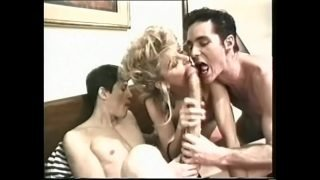 Young gay gets his hairy ass banged by a long dick and the whore looks